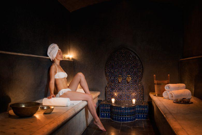 多彩なスパメニューで癒しのひとときモロッコ伝統のハマムも