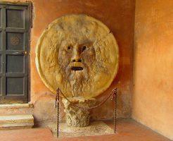 ローマ観光・真実の口