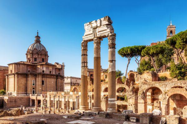 ローマは街そのものが博物館