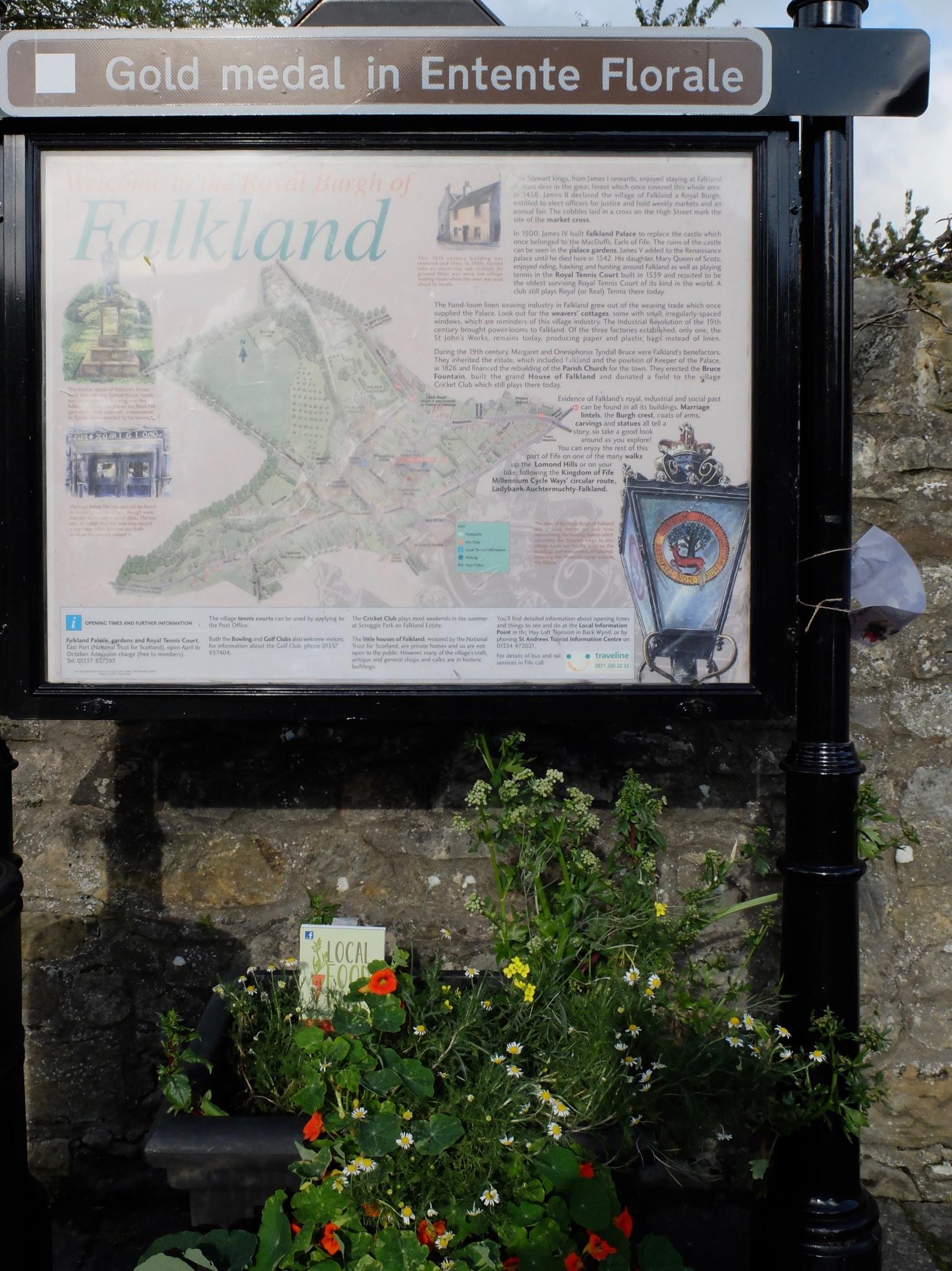 フォークランド村の地図をチェック