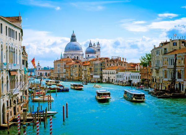 人気NO1都市はヴェネツィア