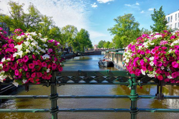 アムステルダムはロマンチックでかわいい街、ハネムーンにおススメ
