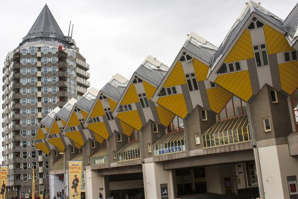 ロッテルダムにある先鋭的な建築物