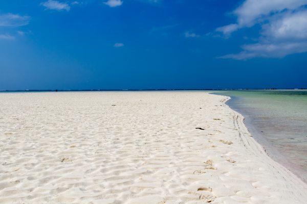美しいケニアのビーチ