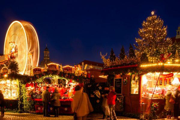 12月ハネムーンならクリスマスマーケット