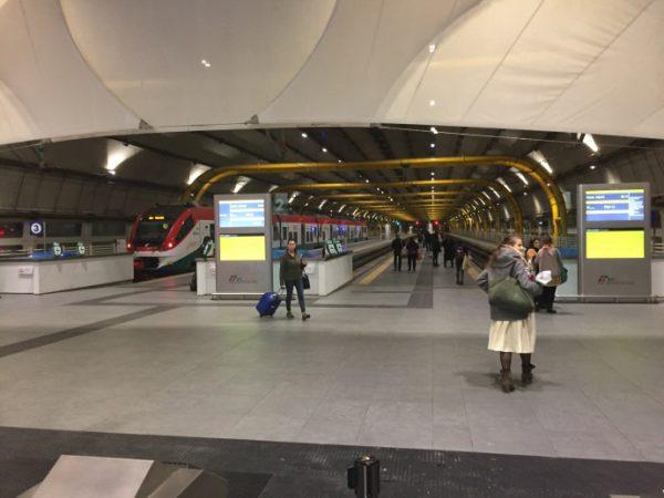 レオナルド・エクスプレスでテルミニ駅までノンストップで移動