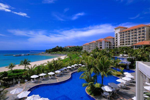 部瀬名岬の先端にあるリゾートホテル「ザ・ブセナテラス」