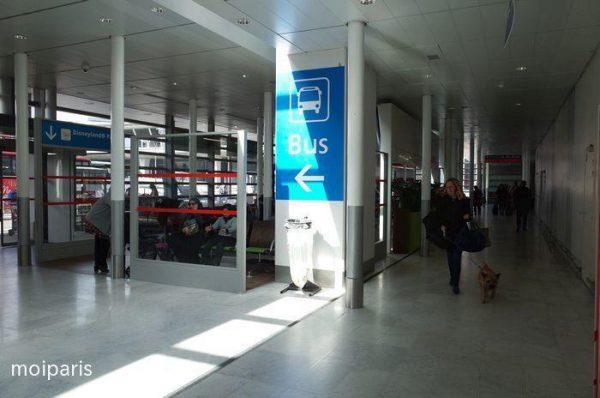 バスターミナルに到着