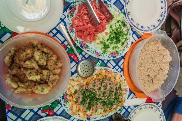 ボリビアの料理例