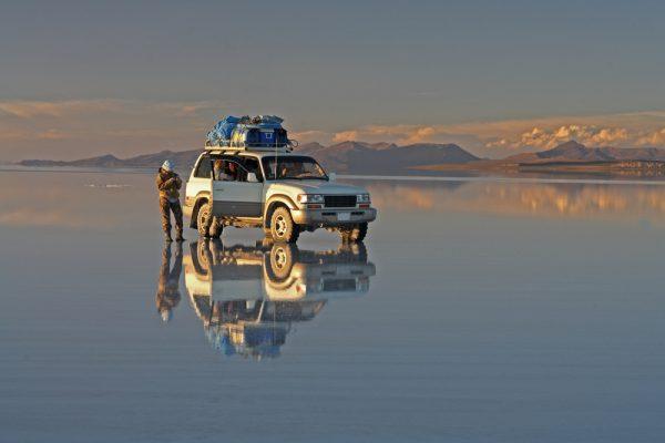 ウユニ塩湖ツアーは4時間から5時間かかる