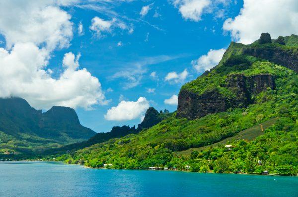 緑豊かな島モーレア島