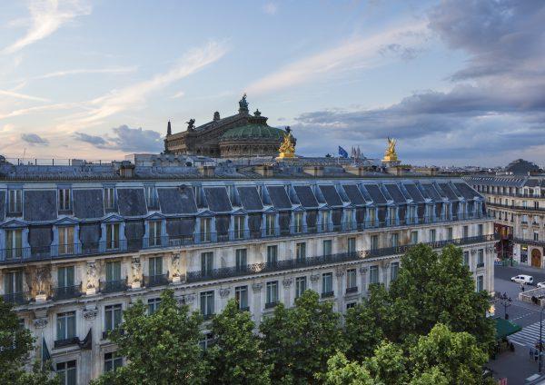 パリの老舗ホテル ル・グラン