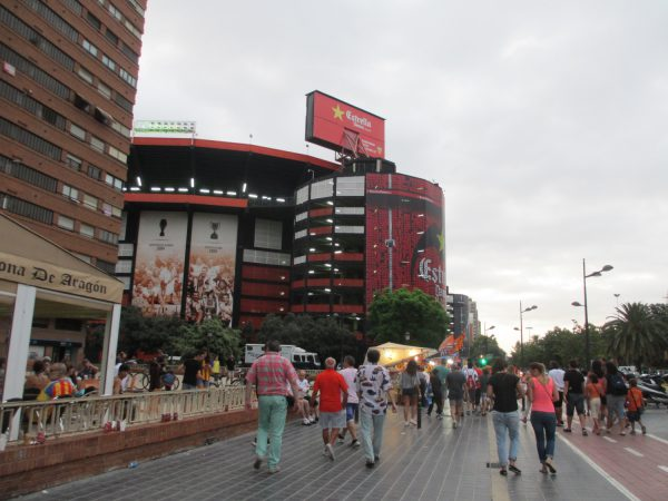 バレンシアのホームスタジアム「メスタージャ」(Mestalla)
