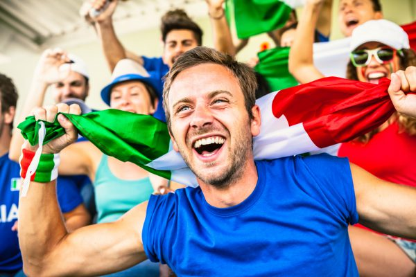 イタリアで本場のサッカー観戦