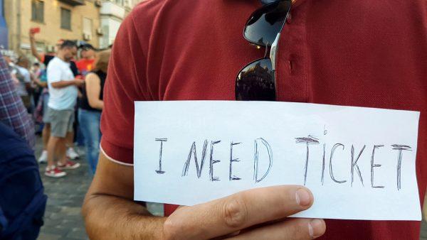 イタリアでサッカー観戦チケットを購入