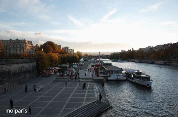 セーヌ河とイエナ橋