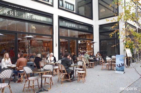 ピエール・エルメのカフェ