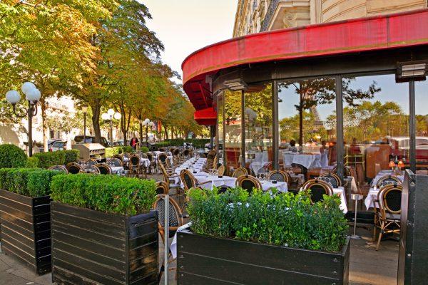 パリらしいフレンチレストラン
