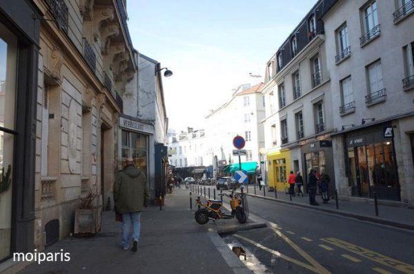 シャロンヌ通り周辺