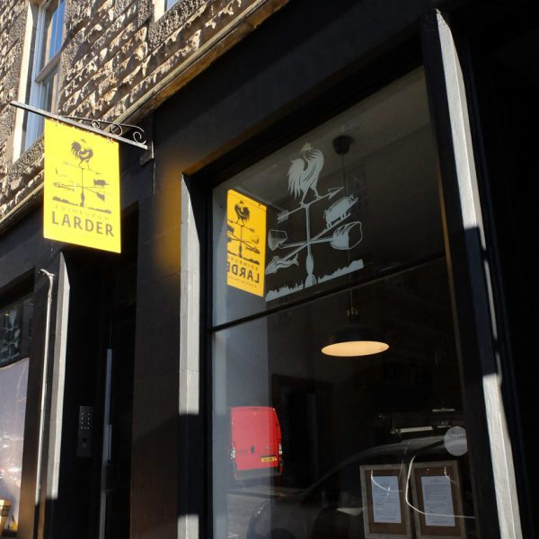 安心素材のカフェ「エディンバラ・ラダー」