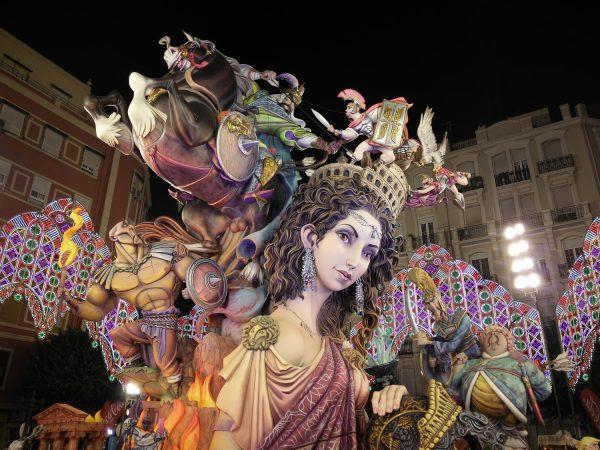 バレンシアの火祭り②