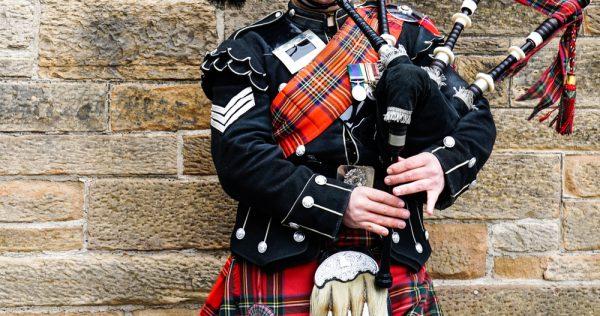 スコットランドの民族衣装キルト