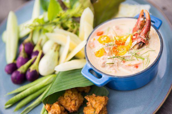 タイの家庭料理を楽しめます