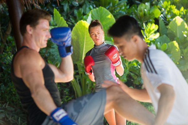 タイボクシングも体験可能