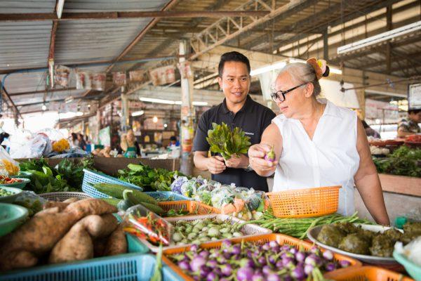 タイの家庭料理を再現したレストラン