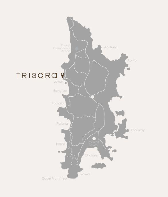 トリサラの位置