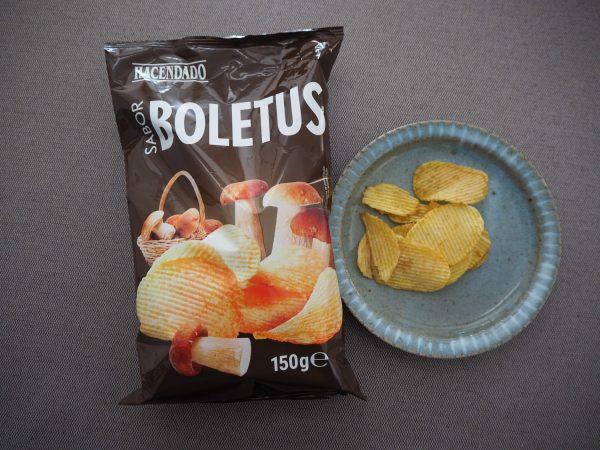 ポルチーニ茸味のポテトチップス