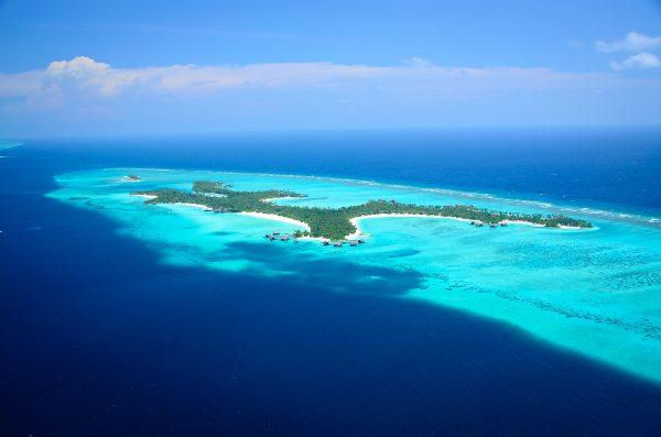 北マーレ環礁にあるリゾート