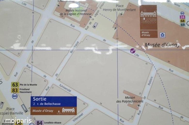 カルティエ地図・エリアをチェック