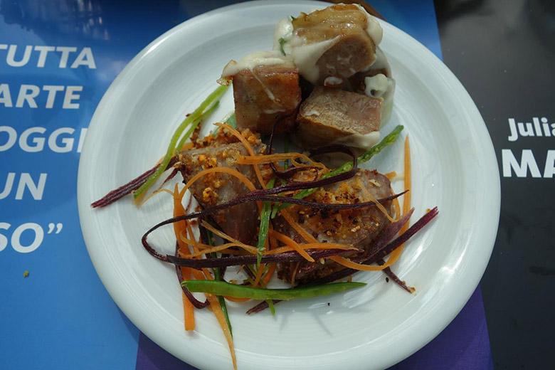 「 アントネッロ・コロンナ-オープン」ビュッフェ 魚料理
