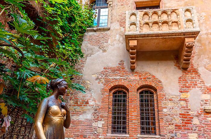 ヴェローナにあるジュリエッタの家