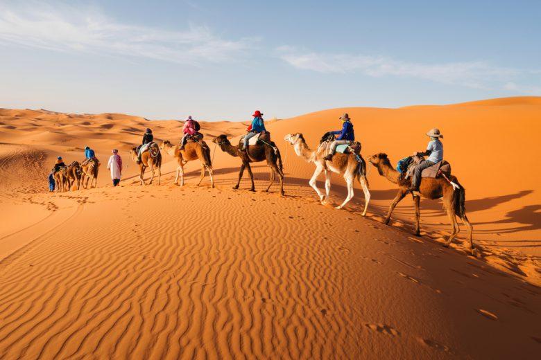 サハラ砂漠観光はモロッコイチオシのオプショナルツアー