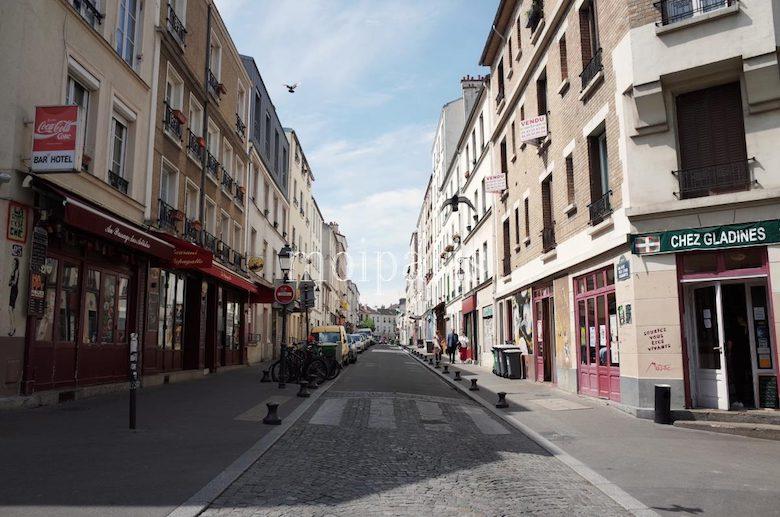 「サンク・ディアマン通り(rue des Cinq Diamants)」