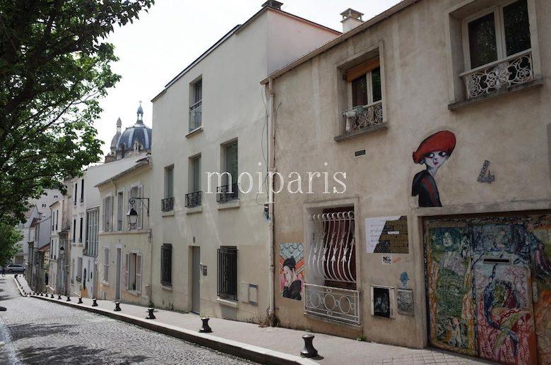 パリなのにプチヴィラージュ気分「ビュット・オ・カイユ」