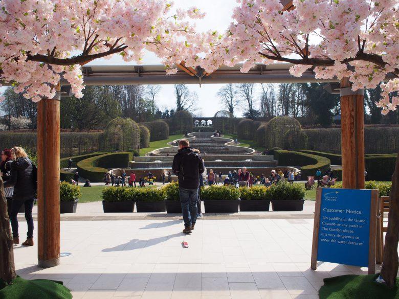 英国庭園・アニック・ガーデンを散策