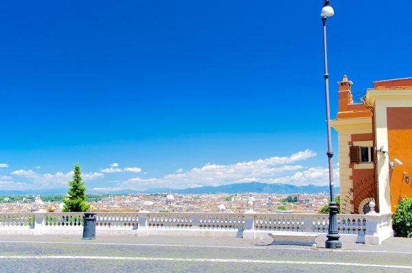 ジャニコロの丘からの眺望