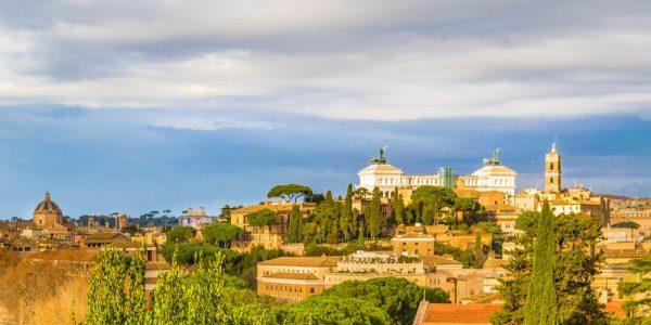 アヴァンティーノの丘からの眺め