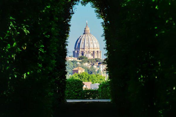 マルタ騎士団広場にある鍵穴からの景色