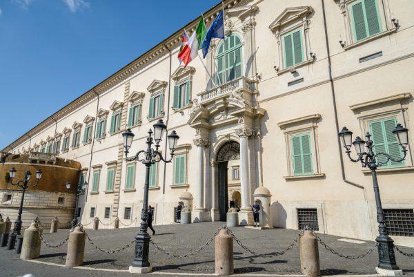 イタリア版ホワイトハウス、クイニナーレ宮殿