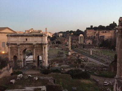 フォロロマーノ(古代ローマ時代の遺跡)
