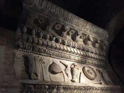 古代ローマの発掘品がたくさん