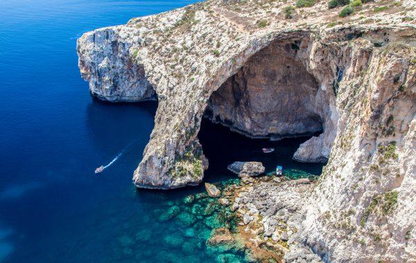 美しすぎるマルタの海