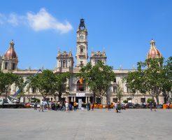 バレンシア市庁舎広場