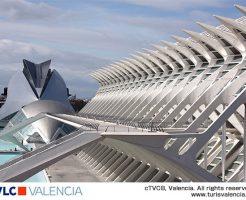 近未来を思わせる芸術都市バレンシア