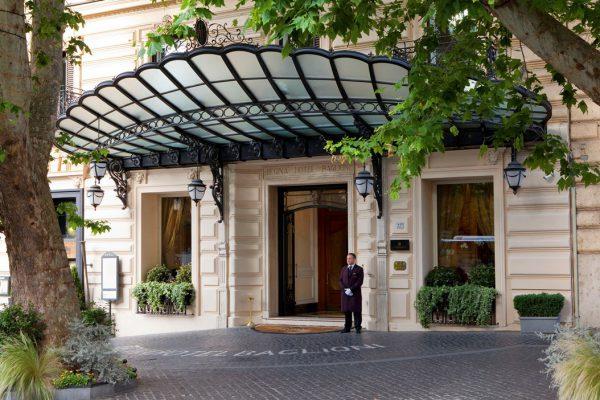 「バリオーニ・ホテル・レジーナ」由緒正しきローマの5つ星ホテル