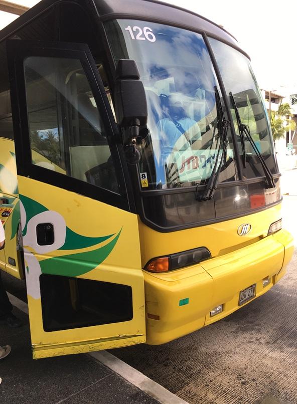 ルックJTBの送迎バス